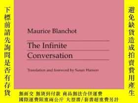 二手書博民逛書店The罕見Infinite Conversation-無限的對話Y436638 Maurice Blancho