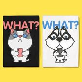 情侶裝 純棉短T MIT台灣製 短袖t恤【Y0886-2】萌寵-貓狗短手自拍 賓士貓 哈士奇 班服 團體服