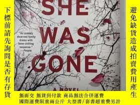 二手書博民逛書店Then罕見She Was Gone by Lisa Jewel