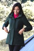 【ATUNAS 歐都納】兩件式GORE-TEX+PRIMALOFT化纖保暖外套★買就贈防曬UV傘一隻★(A-G1824W軍綠)女