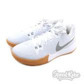 Nike Zoom Live EP 白 銀Logo 膠底 籃球鞋 男  AH7567-100 【Speedkobe】