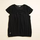 【金安德森】(大人)KA素色荷葉花包袖上衣 (S-XL)