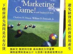 二手書博民逛書店The罕見Marketing Game! With Studen