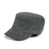 中老年帽子男冬季天爸爸帽保暖護耳帽老人老年人鴨舌帽 萬客居