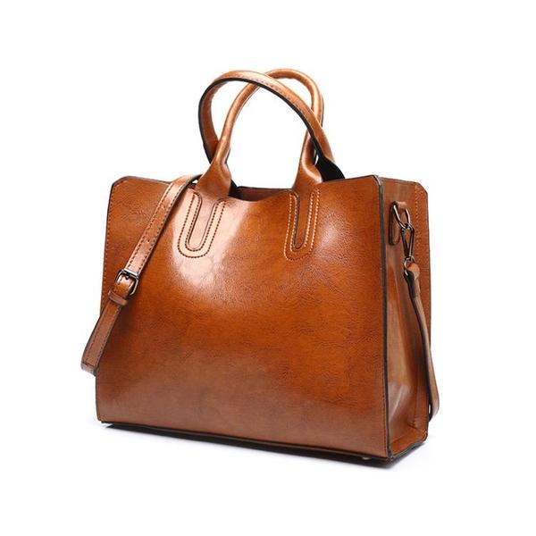 側背包大包包韓版簡約百搭大容量手提包托特包單肩斜背女包 琉璃美衣