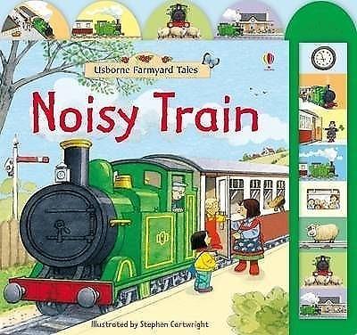 Noisy Train 家鄉的車站 精裝硬頁有聲書