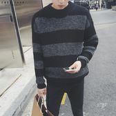 [現貨] 冬季新款復古修身毛衣 半高領針織毛衣 針織衫 針織上衣 韓版寬鬆顯瘦 大尺碼【QZZZ01005】