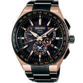SEIKO精工 ASTRON 雙時區鈦GPS衛星定位手錶 8X53-0AV0SD(SBXB126J)