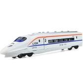 彩珀和諧號高鐵動車火車合金車模型玩具男孩汽車聲光回力車