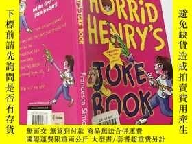 二手書博民逛書店horrid罕見henry s joke book:可怕的亨利的笑話書 Y200392