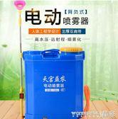 噴霧器 智慧電動噴霧器背負式農用果樹打藥機鋰電池高壓消毒多功能噴霧機 igo 晶彩生活