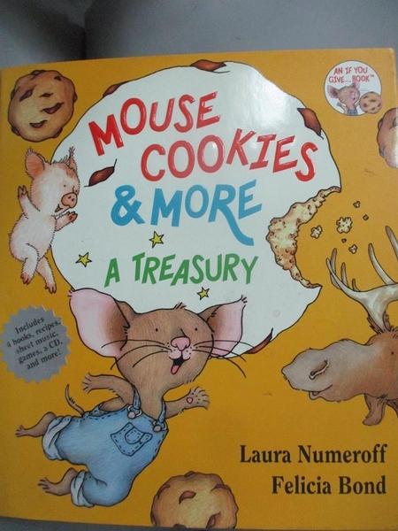 【書寶二手書T6/少年童書_NFQ】Mouse Cookies & More: A Treasury_Numeroff, Laura Joffe