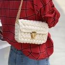 純手工編織包包diy材料背包手提毛線鉤針勾針自制作粗線 黛尼時尚精品