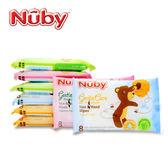 【奇買親子購物網】Nuby 口手柔濕巾(迷你8抽8包)
