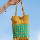 帆布包 手提包女放保溫杯燜燒壺雨傘手拎包大容量新款韓版百搭帆布手提袋
