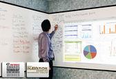 《教學和會議適用》億立Elite 奈米級 iWB114XW2A 114吋16:10可書寫式投影白板膜(背膠)銀幕