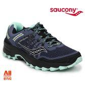 【Saucony】女款慢跑鞋 GRID EXCURSION TR12 戶外越野 -灰藍色(104513)全方位跑步概念館