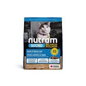 寵物家族-[輸入NT99享9折]紐頓Nutram-S5成貓雞肉鮭魚1.13KG