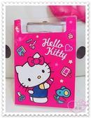 ♥小花花日本精品♥ Hello Kitty 站姿 畫畫 剪刀 文具 星星 夾板附紙 紅色 蝴蝶結 60009302