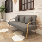 沙發 小戶型北歐簡約現代日式簡易出租房服裝店單雙人布藝客廳沙發【快速出貨】