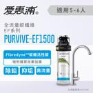 【信源】EVERPURE 愛惠浦公司貨 強效碳纖維家用型淨水器(PURVIVE-EF1500) (含標準安裝)