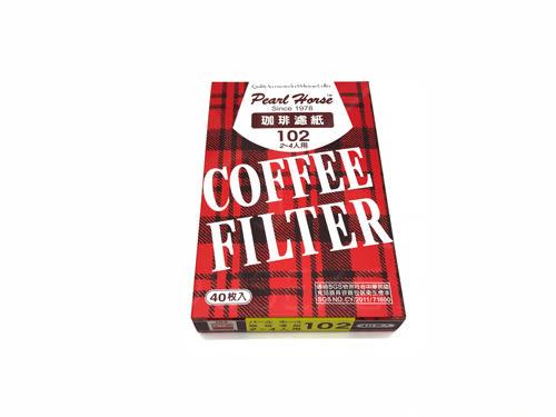 【好市吉居家生活】日本寶馬牌 JA-P-001-005 101咖啡濾紙 2-4人 40入 濾杯 梯形濾紙