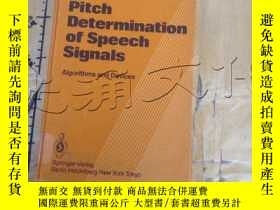 二手書博民逛書店Pitch罕見Determination of Speech S