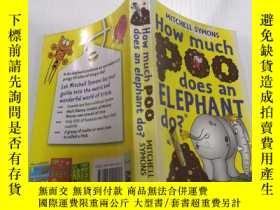 二手書博民逛書店How罕見Much Poo Does an Elephant Do?一頭大象會排泄多少糞便?Y212829