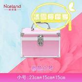 專業水乳護膚品化妝品收納包手提美甲半工具箱