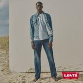 Levis Wellthread環境友善系列 男款 551Z復古直筒牛仔褲 / 棉化寒麻纖維 / 深藍微刷白