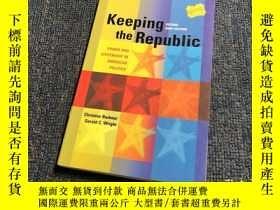 二手書博民逛書店Keeping罕見the RepublicY176068 arb