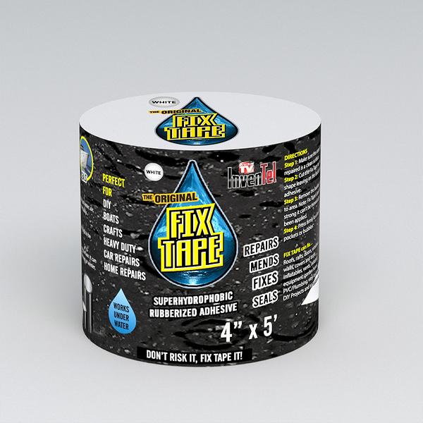 【洛克馬企業】 美國Fix Tape超強防水修補膠帶 黑色款