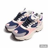 FILA 女 休閒鞋 厚底 修飾 線條 增高-5J308V102