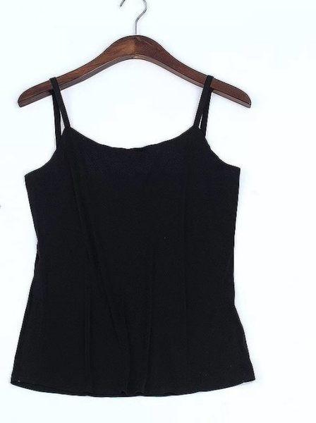 背心 長版蕾絲防走光細肩帶打底杉洋裝內搭 黑色白色[AK0127]預購女裝上衣