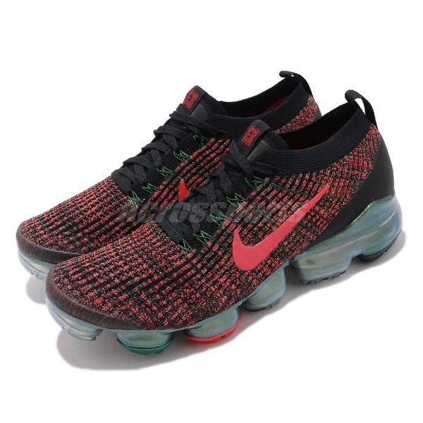 【六折特賣】Nike 慢跑鞋 Air VaporMax Flyknit 3 黑 紅 綠 男鞋 China Hoop Dreams 【PUMP306】 CK0733-080