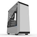 Phanteks 追風者 Eclipse P300 PH-EC300PTG_WT鋼化玻璃白色電腦機殼