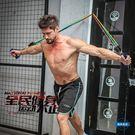 拉力繩拉力繩男士力量訓練阻力帶練臂力練腹肌乳膠彈力繩健身拉力器套裝