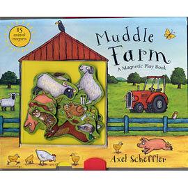 【麥克書店】MUDDLE FARM / 趣味手提磁鐵書
