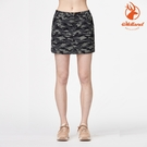 WildLand 女 彈性50+抗UV兩件式迷彩褲裙 0A91345 (抗UV、防潑水、雙向彈性)