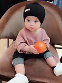 男女童保暖毛帽2018秋冬季新生兒嬰兒針織純棉兒童套頭帽胎帽男女寶寶帽子【贈品4選1】