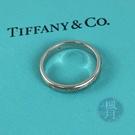 BRAND楓月 TIFFANY&CO. 蒂芬妮 PT950三小鑽戒指 4.25G 白金 鉑金 尾戒 鑲鑽