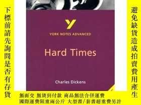 二手書博民逛書店英文原版書罕見 Hard Times (York Notes A