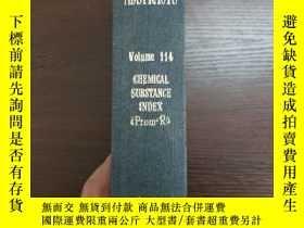 二手書博民逛書店CHEMICAL罕見ABSTRACTS Vol.114 CHEMICAL SUBSTANCE INDEX(Prom