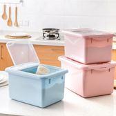 防蟲防潮裝米箱塑料面粉桶儲米桶廚房米缸米罐盒子米桶10kg儲米箱 全館八八折鉅惠促銷HTCC
