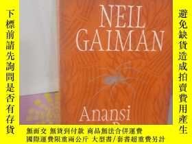 二手書博民逛書店實物拍照;Anansi罕見BoysY15389 Neil Gaiman 著 Headline Book Gr