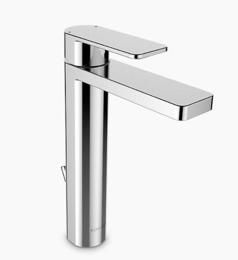 【麗室衛浴】美國KOHLER活動促銷 Parallel 加高面盆龍頭 K-23478T-4-CP