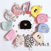 韓國卡通可愛帆布零錢包女迷你硬幣包布藝零錢袋學生鑰匙包小錢袋—交換禮物