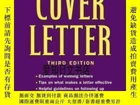 二手書博民逛書店【罕見】 The Perfect Cover Letter, 3rd EditionY175576 Richa