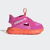 Adidas 360 Sandal I [FX4952] 小童鞋 保護 休閒 涼鞋 輕量 透氣 套穿式 愛迪達 桃紅