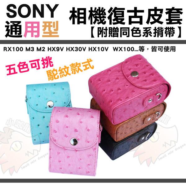 【小咖龍】 Sony 索尼 通用相機包 RX100 M2 m3 m4 M5 HX9V HX30V HX10V WX30 WX100 W690 相機皮套